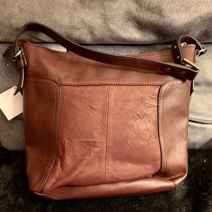 Giani Bernini Leather Hobo Bag NWT